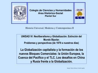 Historia Universal, Moderna y Contempor nea II