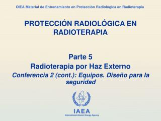 PROTECCI N RADIOL GICA EN RADIOTERAPIA