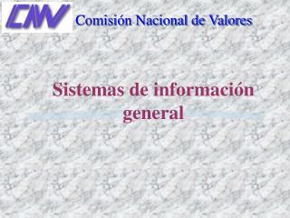Sistemas de informaci n general