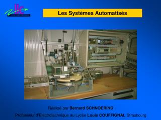 Les Syst mes Automatis s