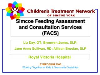 Simcoe Feeding Assessment and Consultation Services FACS