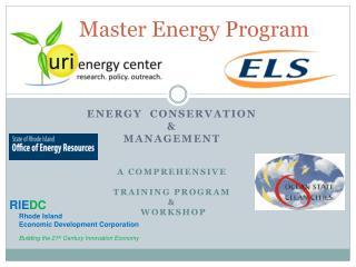 Master Energy Program