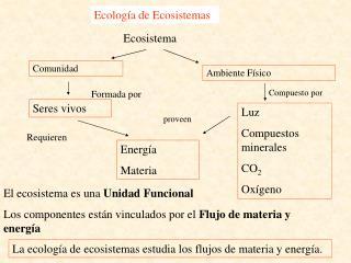 Ecolog a de Ecosistemas