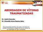 ABORDAGEM DE V TIMAS TRAUMATIZADAS