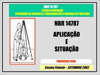 NBR 14787 APLICA  O                    E                        SITUA  O