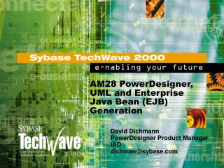 AM28 PowerDesigner, UML and Enterprise Java Bean EJB Generation