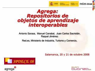 Salamanca, 20 y 21 de octubre 2008