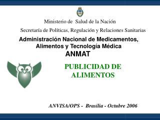 Ministerio de  Salud de la Naci n