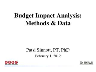 Patsi Sinnott, PT, PhD February 1, 2012