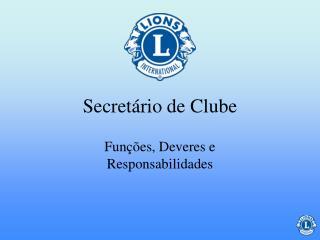Secret rio de Clube