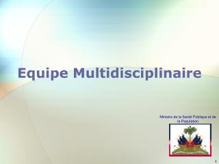 Equipe Multidisciplinaire