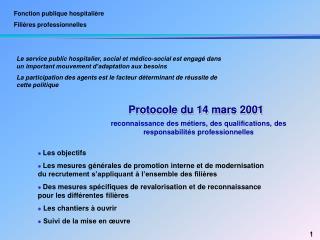 Fonction publique hospitali re Fili res professionnelles