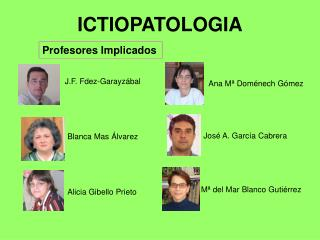 ICTIOPATOLOGIA