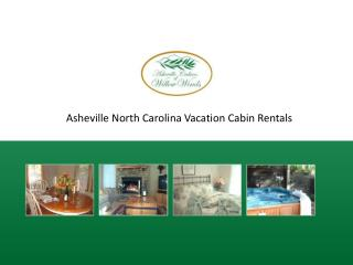 Asheville Willow Winds Vacation Rental CabinsNorth Carolina