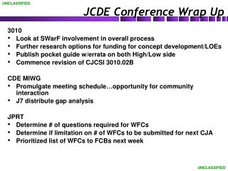 JCDE Conference Wrap Up