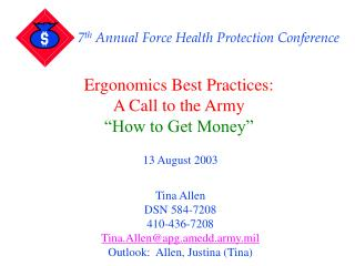 7th Annual Force Health Protection Conference