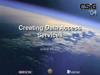 Creating Data Access Services