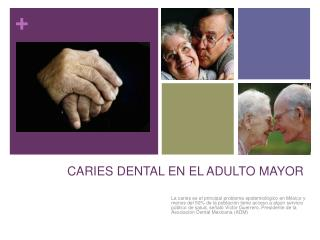 CARIES DENTAL EN EL ADULTO MAYOR