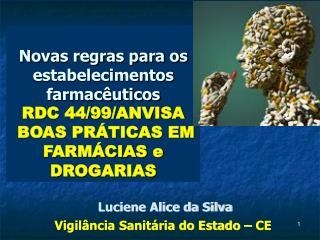 Novas regras para os estabelecimentos farmac uticos RDC 44