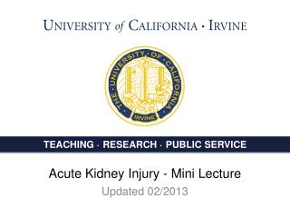 AKI- Acute Kidney Injury