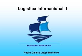 Log stica Internacional  I