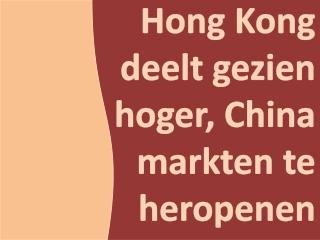 Micron Associates - Hong Kong deelt gezien hoger, China mark