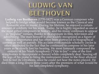 : : Beethoven  :   :1770