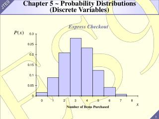 Chapter 5  Probability Distributions Discrete Variables