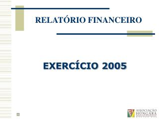 EXERC CIO 2005