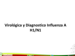 Virol gica y Diagnostico Influenza A H1