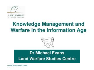 Knowledge and Warfare: The Revolution in Military Affairs
