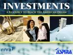 Introducci n a las opciones de inversiones, ingresos, riesgo, asignaci n del activo, a la diversificaci n y al reequilib