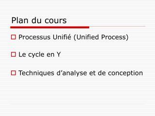 Processus unifi : Mod le En Y