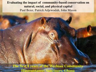 Evaluating the impact of community-based conservation on ...