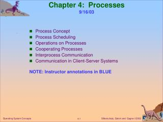 Chapter 4:  Processes 9