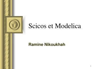 Scicos et Modelica