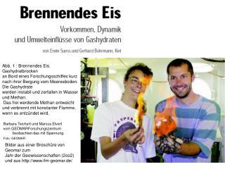 Bilder aus einer Brosch re von  Geomar zum  Jahr der Geowissenschaften 2oo2 und aus ifm-geomar.de