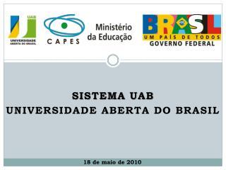 Sistema UAB Universidade Aberta do Brasil