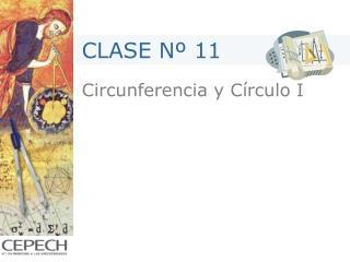 Circunferencia y C rculo I
