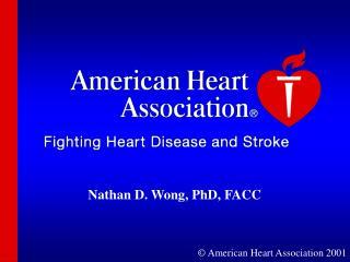 American Heart Association 2001