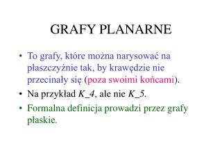 GRAFY PLANARNE