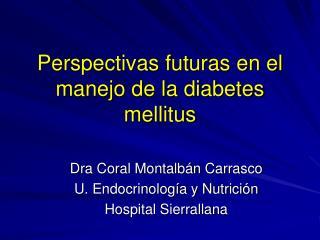 Perspectivas futuras en el manejo de la diabetes mellitus