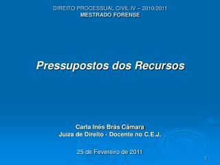 DIREITO PROCESSUAL CIVIL IV   2010
