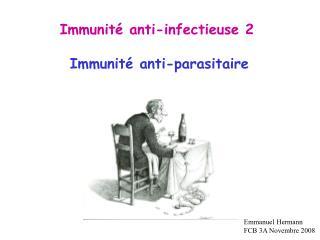 Immunit  anti-infectieuse 2
