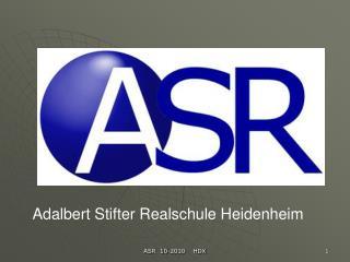 ASR  10-2010    HDX