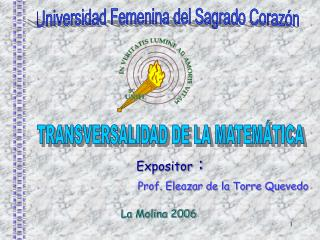 Universidad Femenina del Sagrado Coraz n