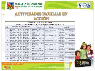 ACTIVIDADES FAMILIAS EN ACCI N
