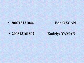 200713131044                       Eda  ZCAN  200813161802              Kadriye YAMAN