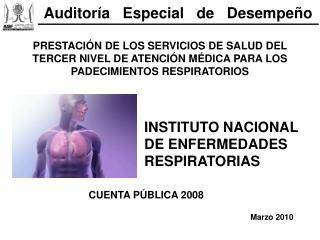 PRESTACI N DE LOS SERVICIOS DE SALUD DEL TERCER NIVEL DE ATENCI N M DICA PARA LOS PADECIMIENTOS RESPIRATORIOS