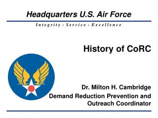 History of CoRC